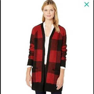Lucky Brand Buffalo Plaid Sweater